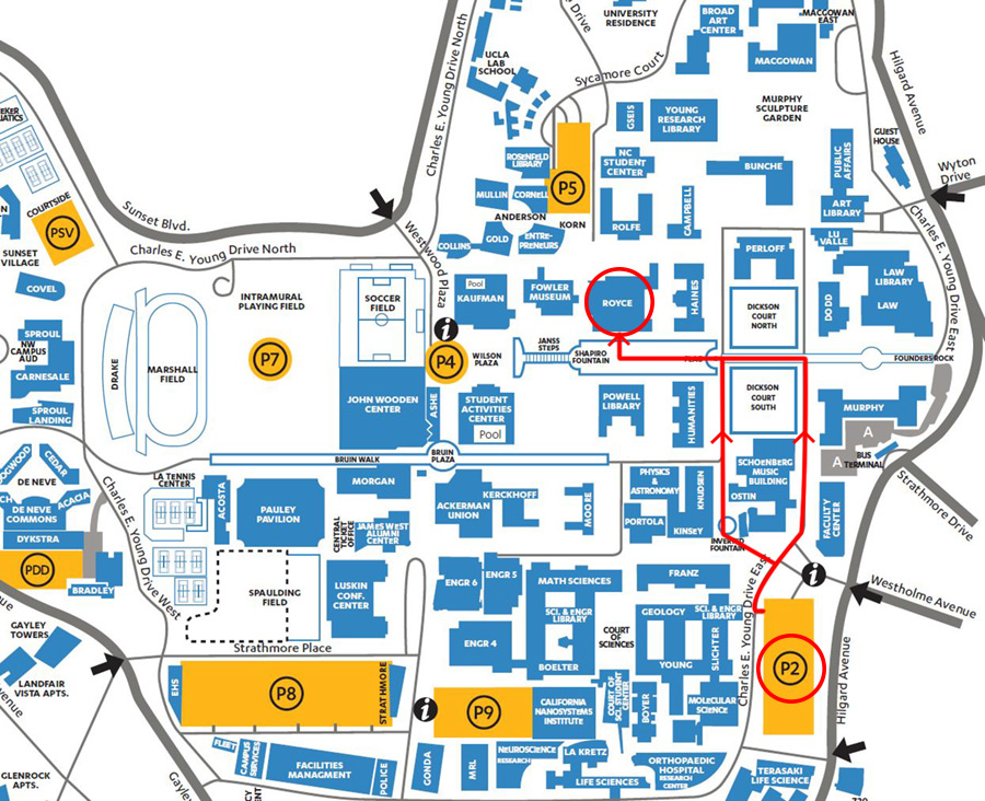 Graduation Parking & Guest Lodging | UCLA Continuing Education