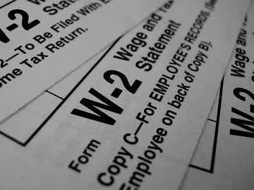 W-2 Form for Employee​ Wages